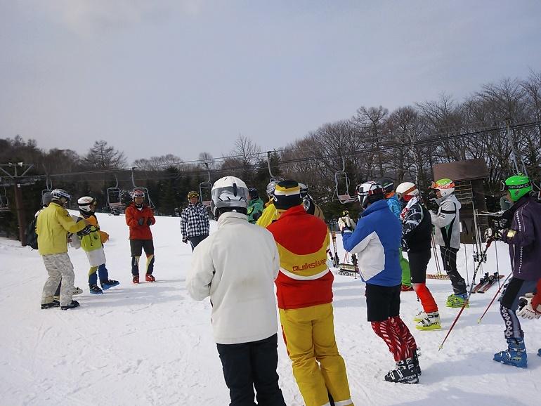 市民スキー大会のイメージ
